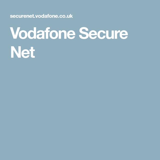 Vodafone Secure Net Security Vodafone Net