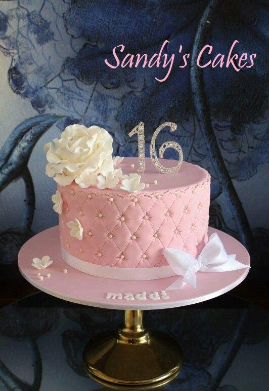 Marvelous Sweet 16 Cake With Images Sweet 16 Birthday Cake 16 Birthday Funny Birthday Cards Online Necthendildamsfinfo