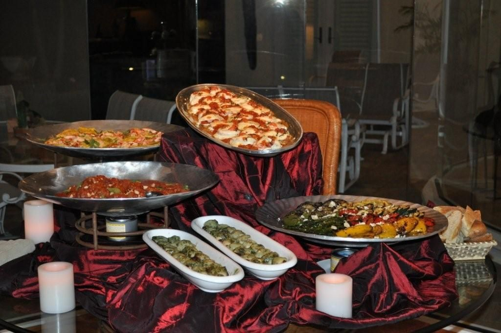 Platters and Entrees Customized Just for You