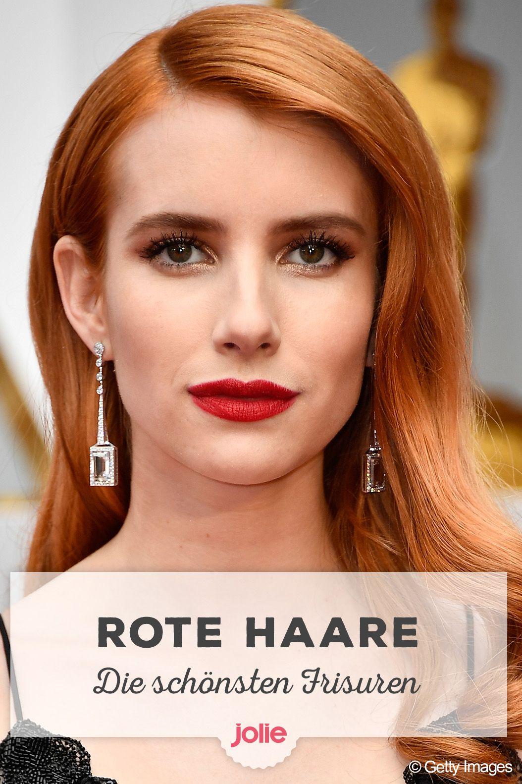 Frisuren-Trend Rote Haare: Styling Tipps und Farben für