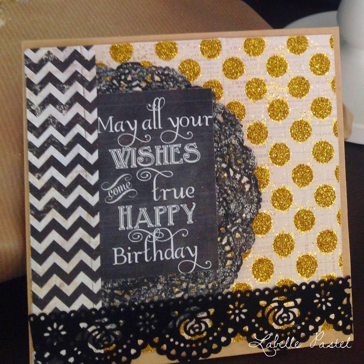 Geburtstagskarte für den Ehemann - Birthday card for my husband
