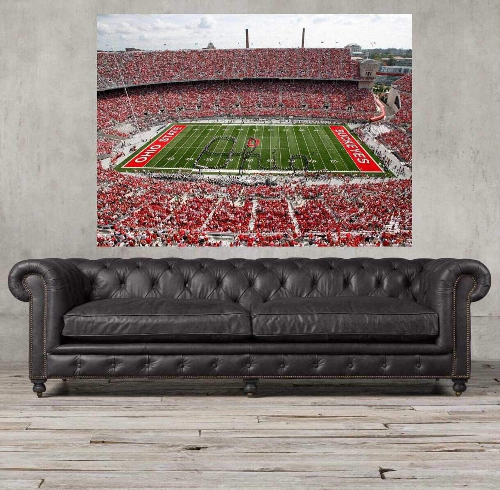 Ohio State, Ohio state buckeyes, Ohio stadium, OSU, Framed Art, Wall art print, Ohio state poster