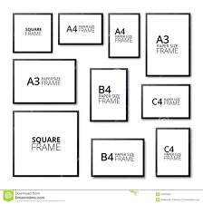 Image result for photo frame sizes Frame wall collage
