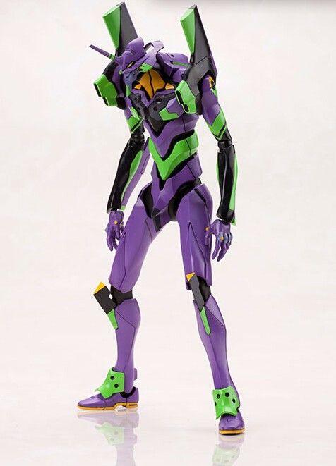 Anime Japones Figura De Acao EVA Neon Genesis Evangelion 01 Revoltech Filme Ver Brinquedo Colecoes Em E Personagens Brinquedos Lazer No
