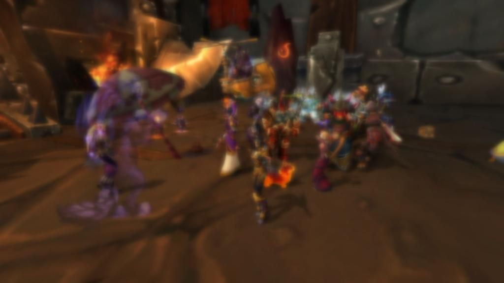 Drunk blur dancing while we try to get enough people for Mythic. #Warcraft