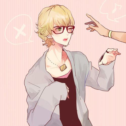 Imagem De Green Eyes Anime Boy And Blonde Hair Blonde Anime Boy Blonde Hair Green Eyes Cute Anime Boy