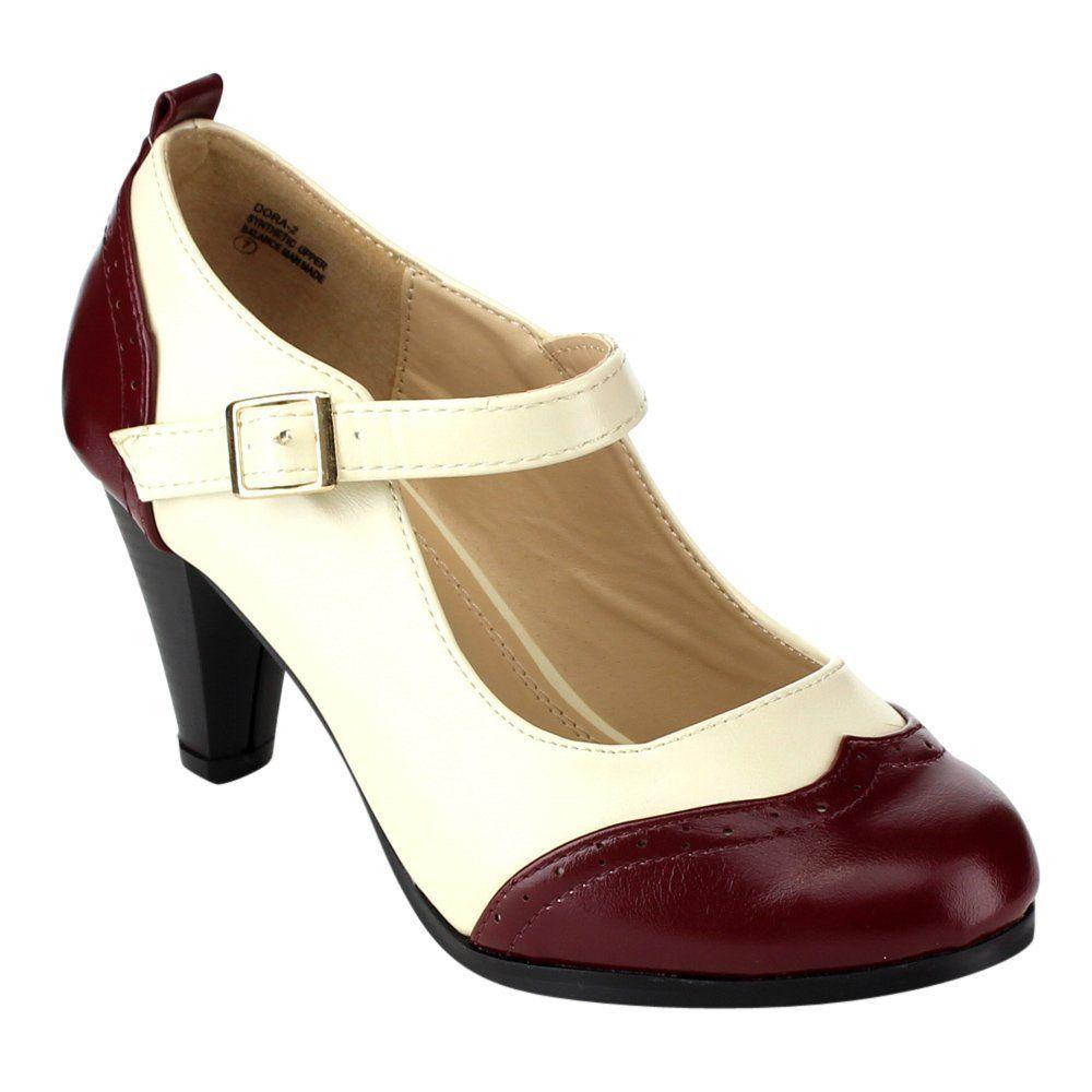 Vintage-Inspired Heels