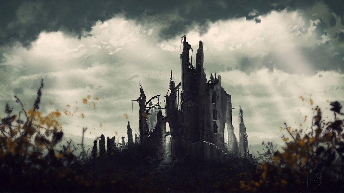 Earth illustration, Castle art, Tolkien artwork