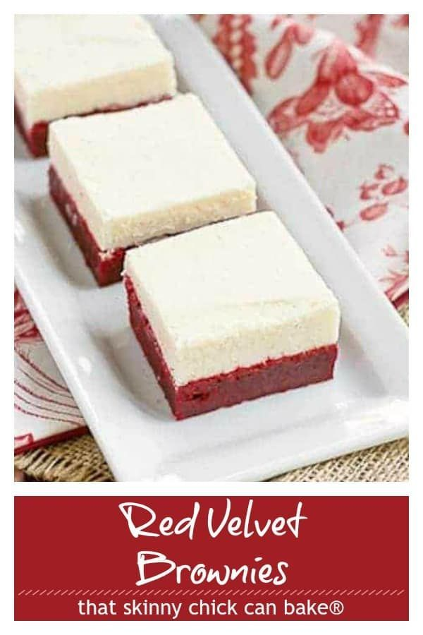 Red Velvet Brownies with White Chocolate Icing Redux Red Velvet Brownies with White Chocolate Icing