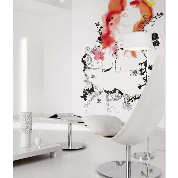Lé unique vertical Prid - Panoramique Komar #aquarelle #wallpaper ...