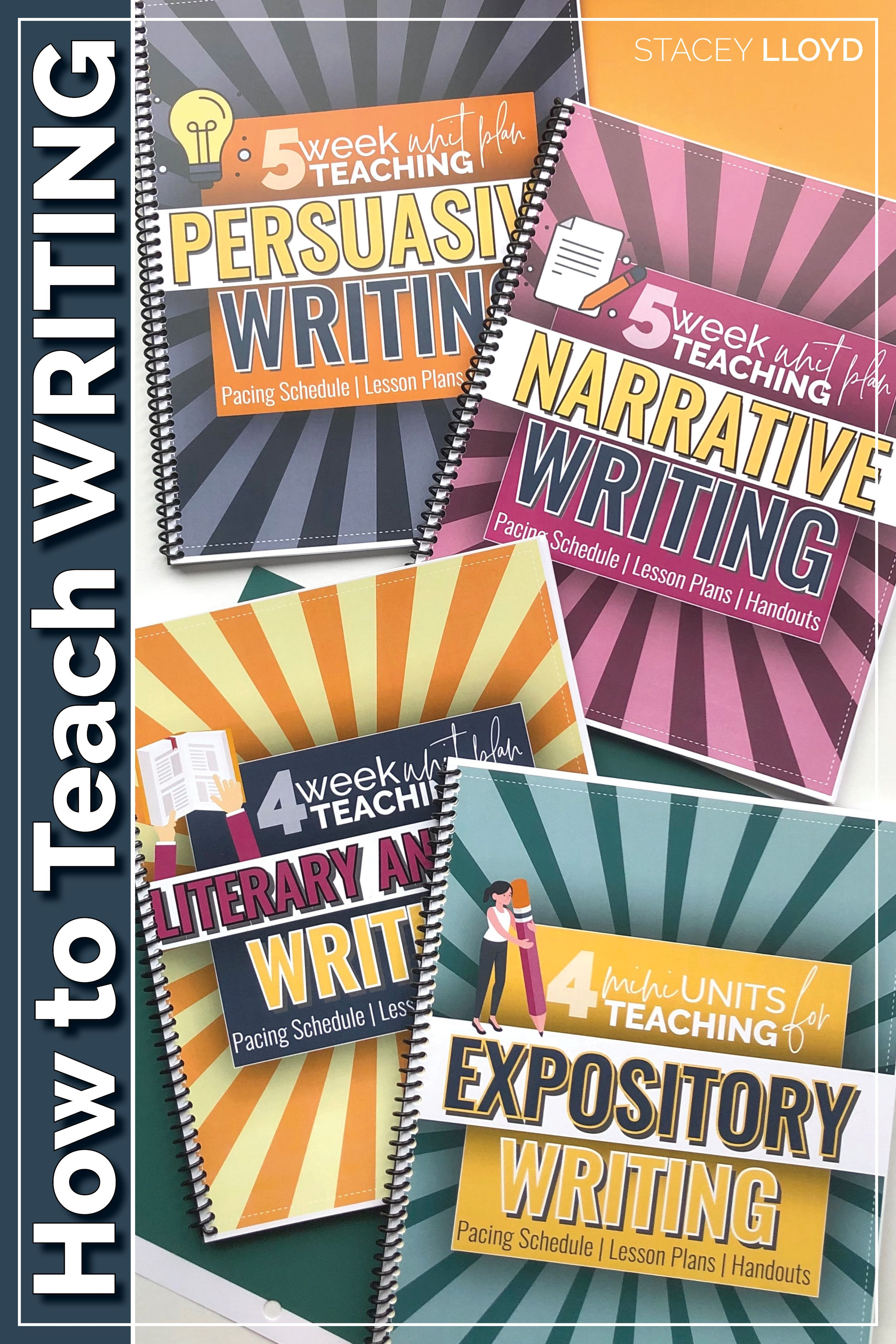 Writing Bundle Persuasive Literature Expository And