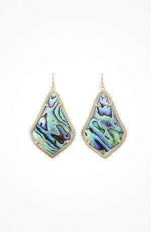 Kendra Scott Alexandra Earring #accessories  #jewelry  #earrings  https://www.heeyy.com/kendra-scott-alexandra-earring-gold-abalone-shell/