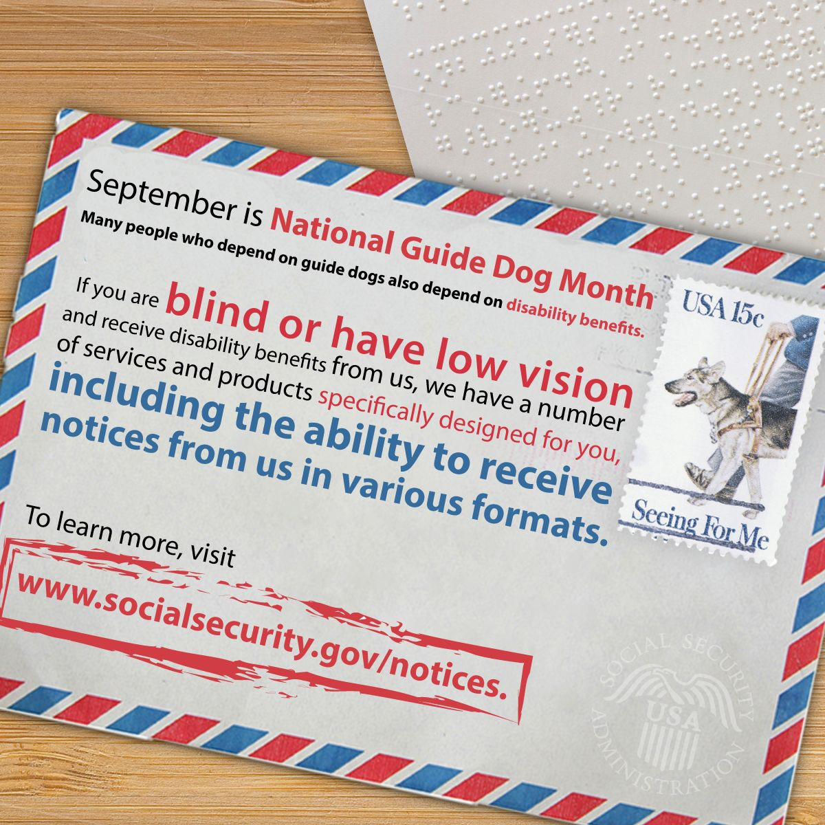 Blind Or Have Low Vision Get Disability Benefits We Have Info