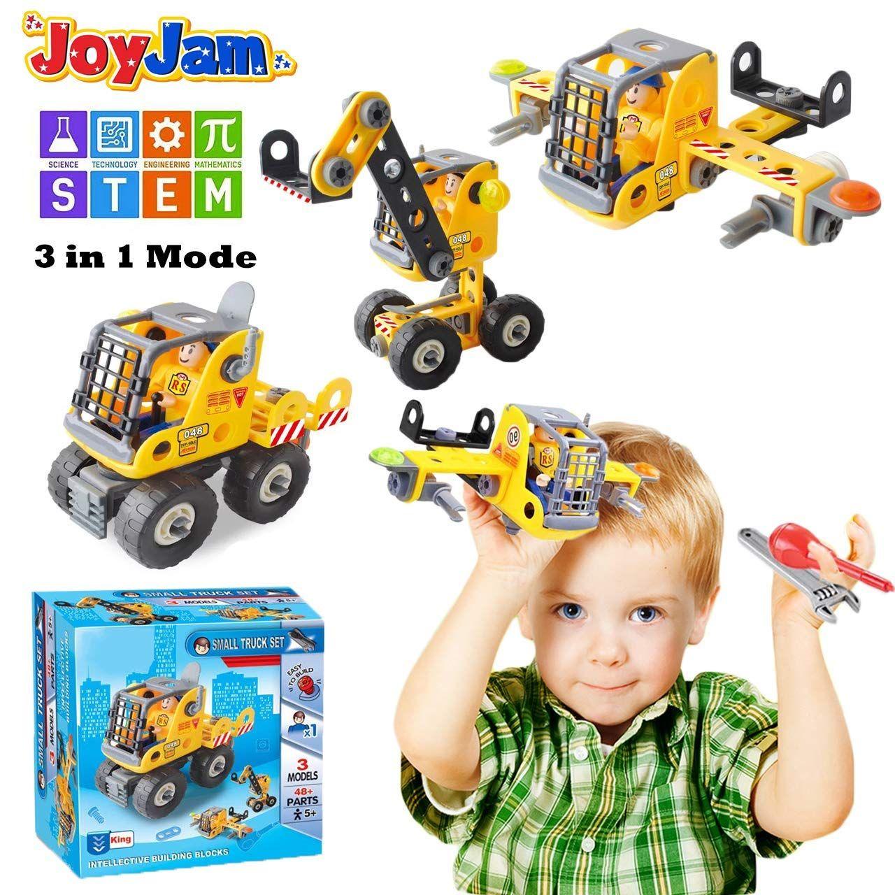 Joy Jam Spielzeug Fur 5 8 Jahre Alte Jungen Bauspielzeug Konstruktion Spielzeug Bergpolizei Bergbau Tr Geschenke Fur Jungs Adventskalender Geschenke Spielzeug
