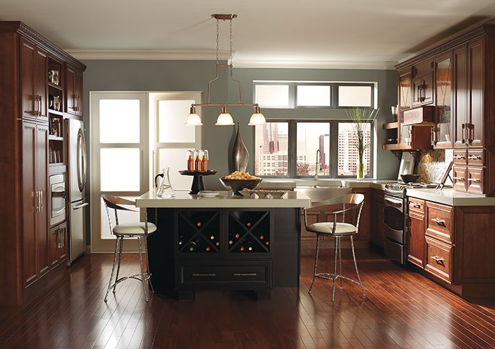 Kitchen Inspiration Gallery Home Depot Canada Thomasville Cabinetry Cherry Cabinets Kitchen Thomasville Kitchen Cabinets