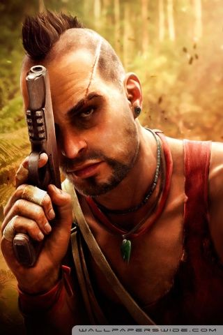 Vaas Far Cry 3 Hd Desktop Wallpaper Widescreen High Definition Far Cry 3 Crying Favorite Character