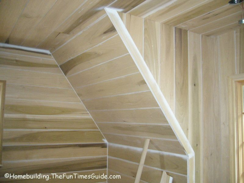 Example Of Shiplap Installed On Angled Walls What To Do With Walls Pinterest Walls