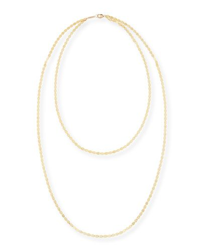 Bond Nude 14K Two-Strand Necklace
