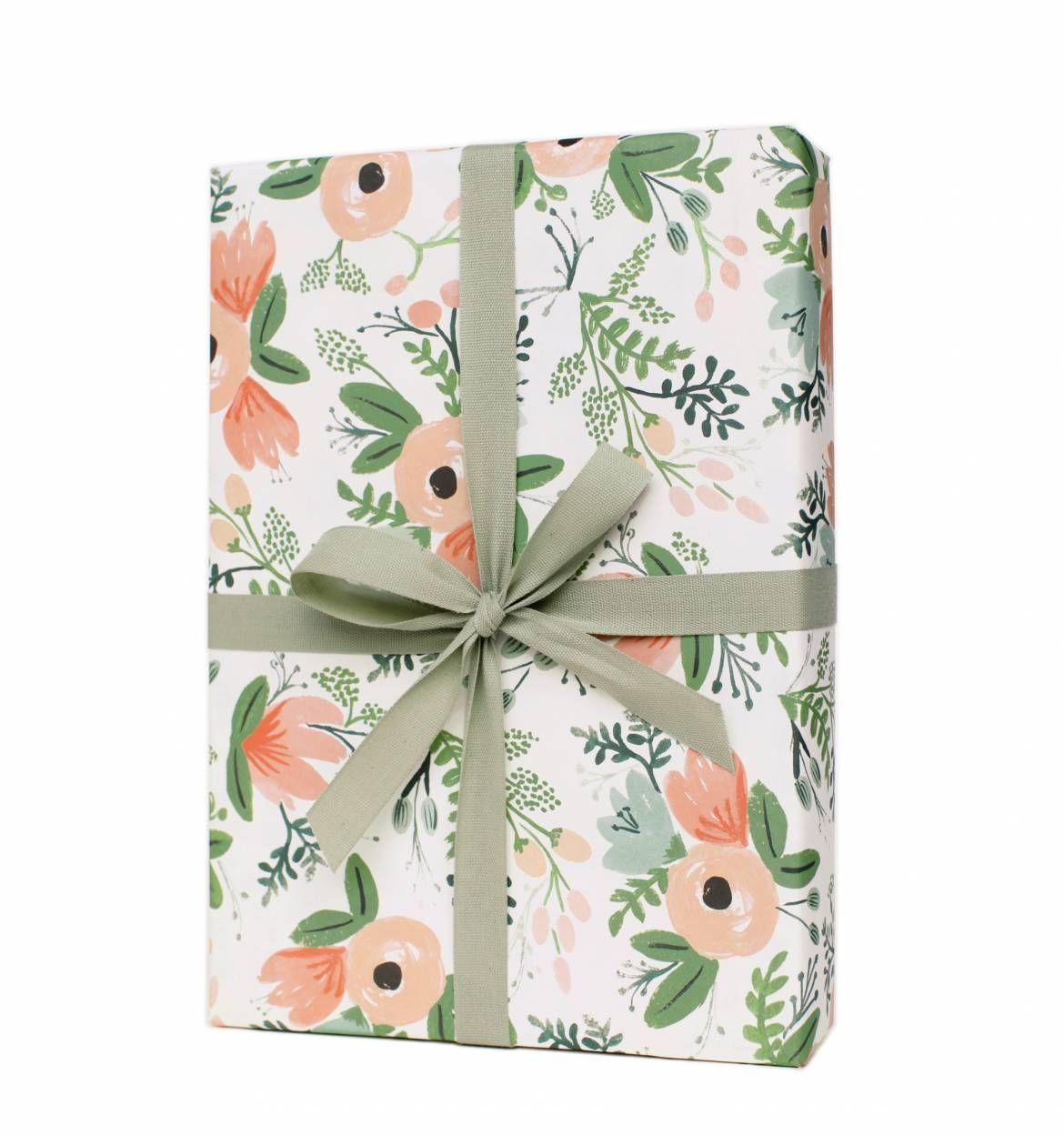 Wildflower Set of 3 Rolled Wrapping Sheets