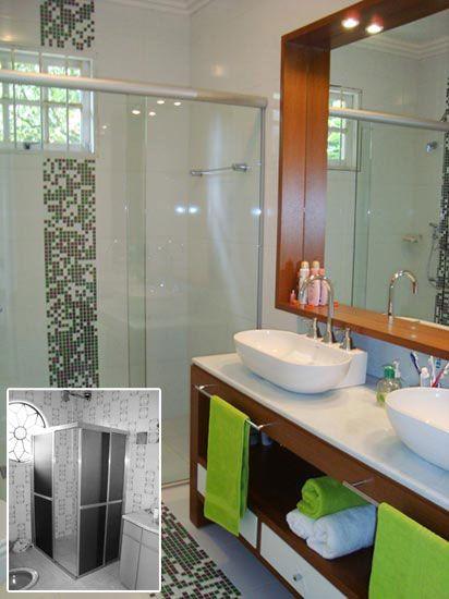 10 Antes E Depois De Banheiros Cozinhas Jardins Quartos