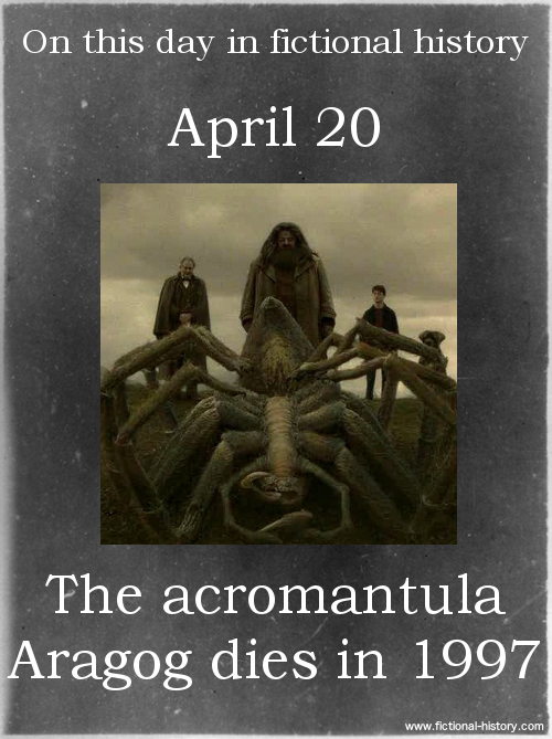 April 20, 1997 On This Date in Fictional History