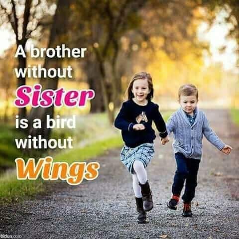 Click Here For More Quotes About Brother And Sister Lovely