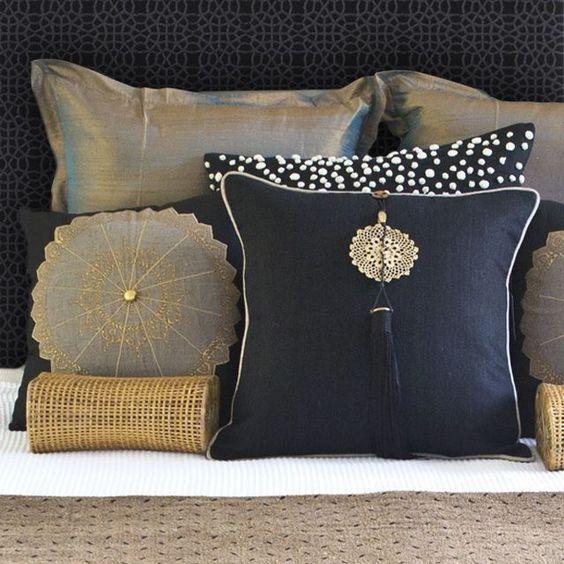 34 dise os de cojines decorativos para tu sala cojines decorativos decoraci n y organizaci n - Diseno de cojines para sala ...