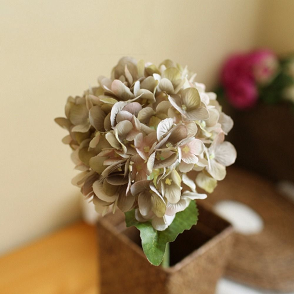 Hot sale realistic yellow blue pink hydrangea artificial fake flower hot sale realistic yellow blue pink hydrangea artificial fake flower arrangement hotel wedding decoration affiliate izmirmasajfo
