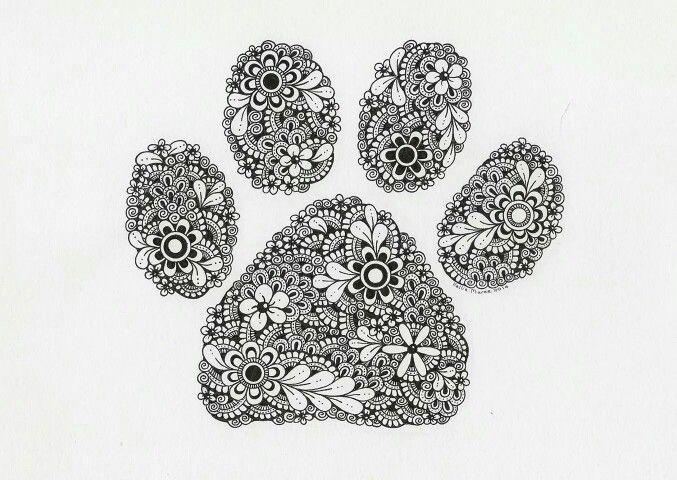 malvorlagen hundepfoten  tiffanylovesbooks