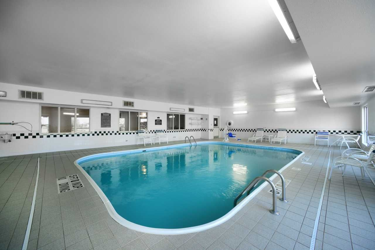 Dip Into Indoor Pool At Quality Inn And Suites Springfield