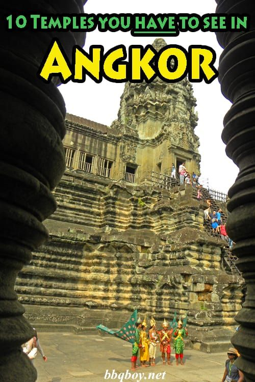 Everything you need to know about the Temples of Angkor Archaeological Park. Also included are the Top rated Temples...as well as OUR rating of the Top 10. #bbqboy #Angkor #SiemReap #Cambodia #travel