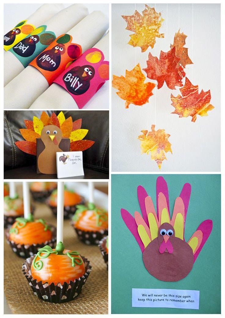 Thanksgiving Craft Ideas Pinterest Thanksgiving craft