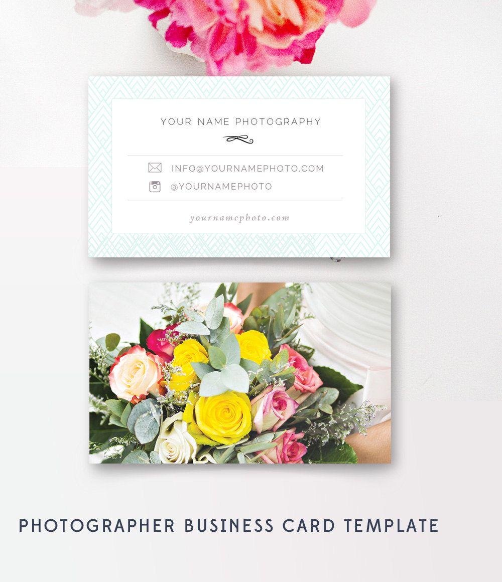 Photographer Business Cards Template - Wedding Photographers ...