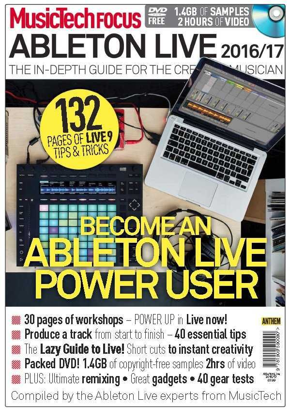 Music Tech Focus Ableton Live 20162017 Magesy® R