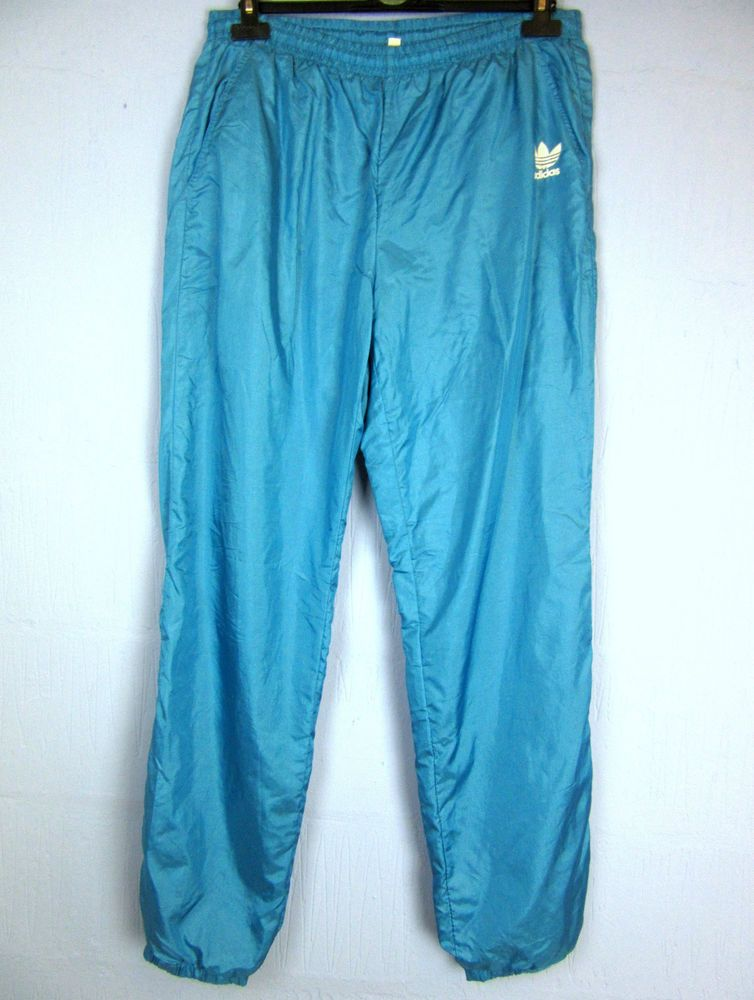 Vintage Adidas blue shell pants | HOT