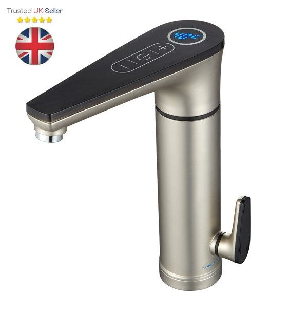 Grab It On Amazon For Just 89 99 Instant For Hot Water No Wait No Waste Stainless Steel Body Stainl Water Tap Electric Water Heater Stainless Steel Faucets