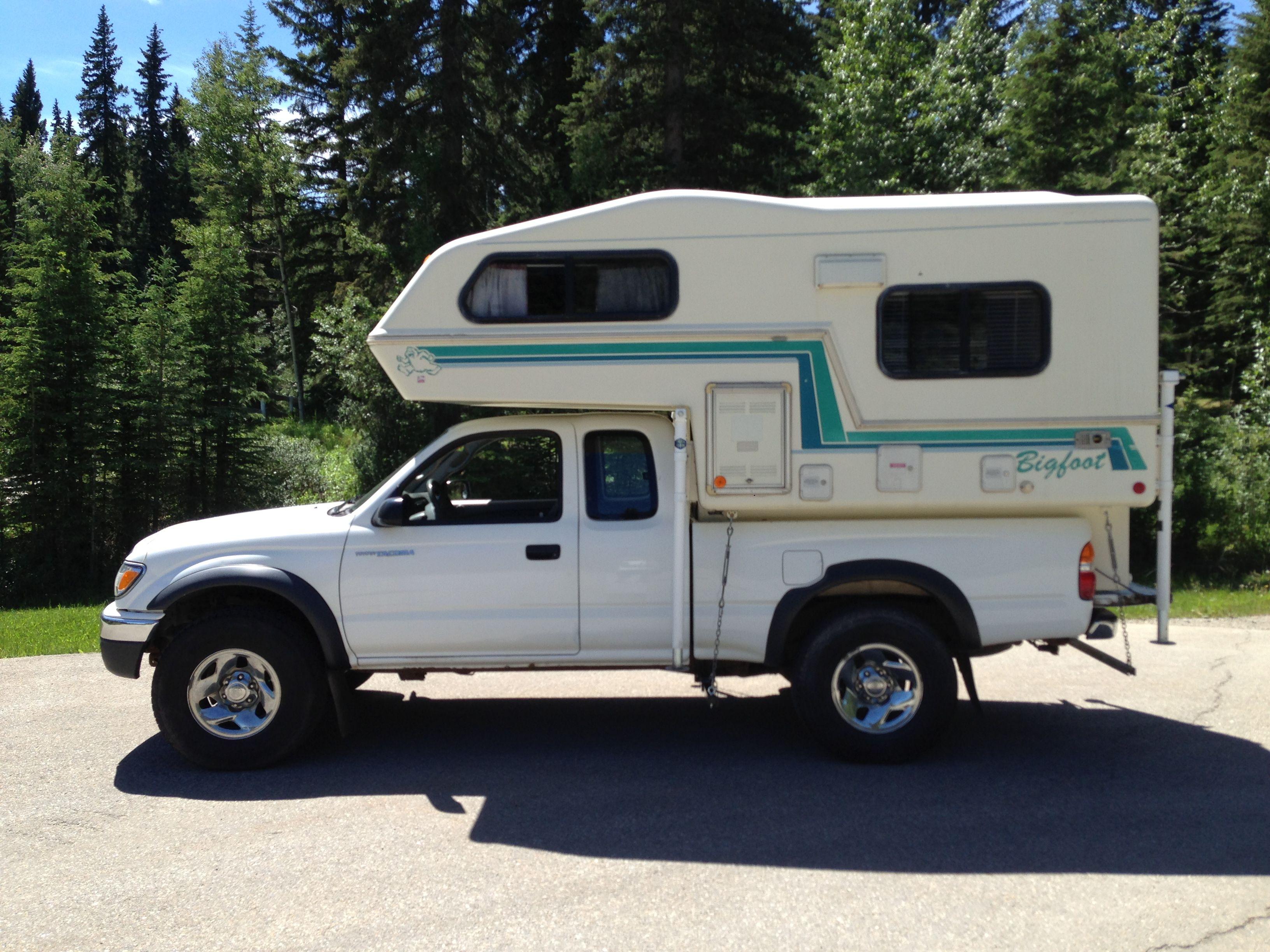 Aliner expedition for sale craigslist - 2003 Toyota Tacoma 4x4 V6 1994 Bigfoot 6 11 Import Truck Camper