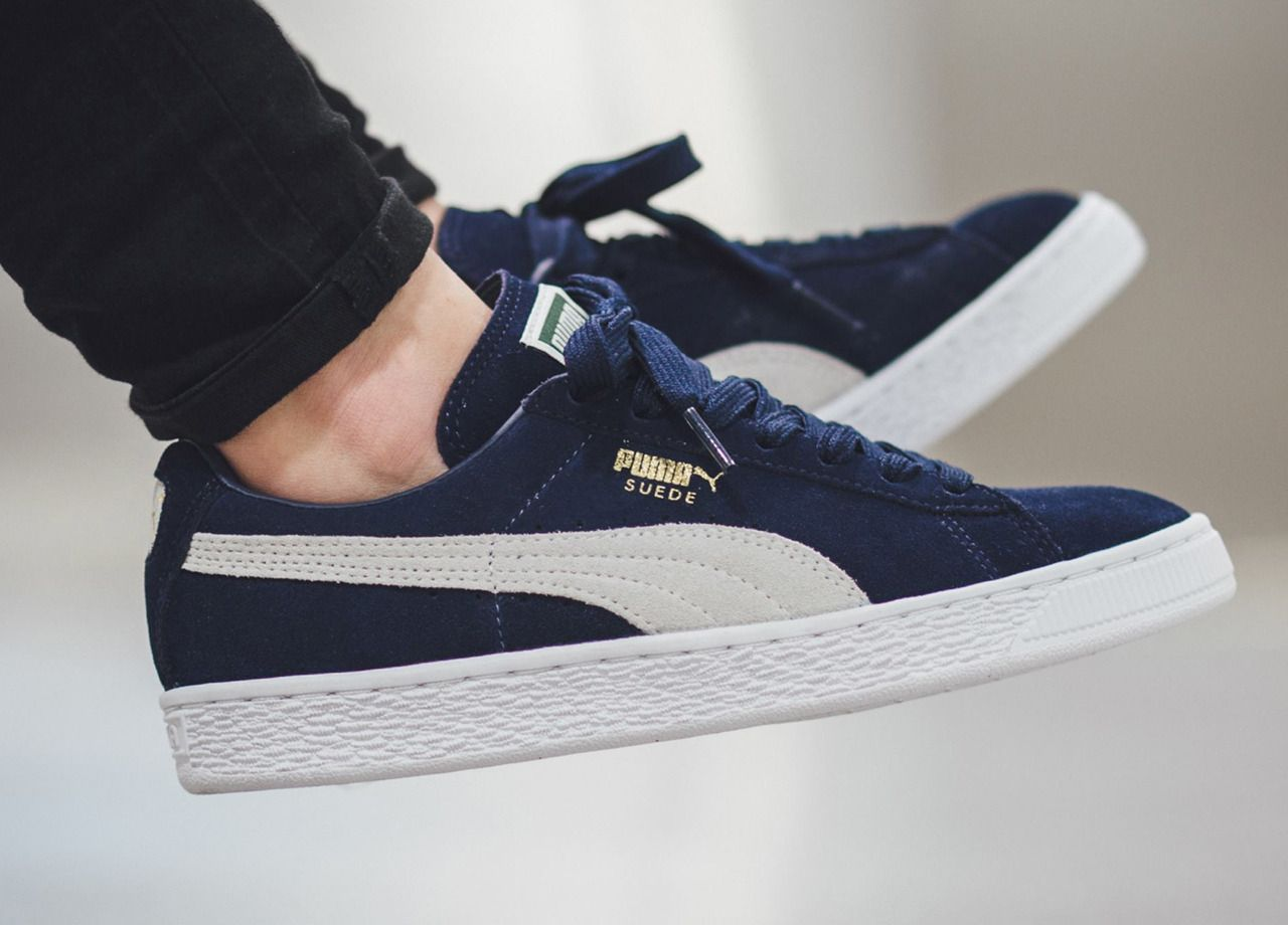 Puma Suede Classic PeacoatWhite (by titolo) Buy from