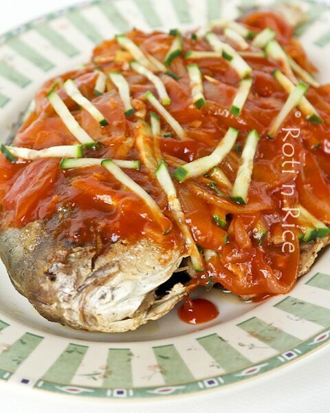 Sweet and sour pompano fish recipe fish rice and food for Pompano fish recipe