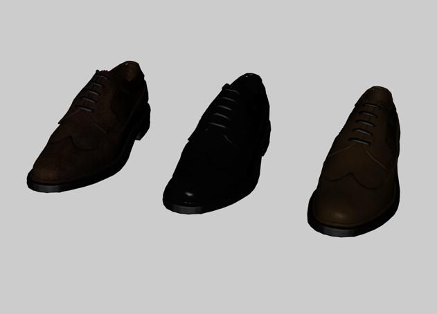 shoes 3d model  ad   shoes model