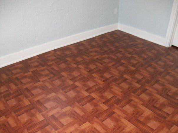 rental bed1 floor it s vinyl sticky