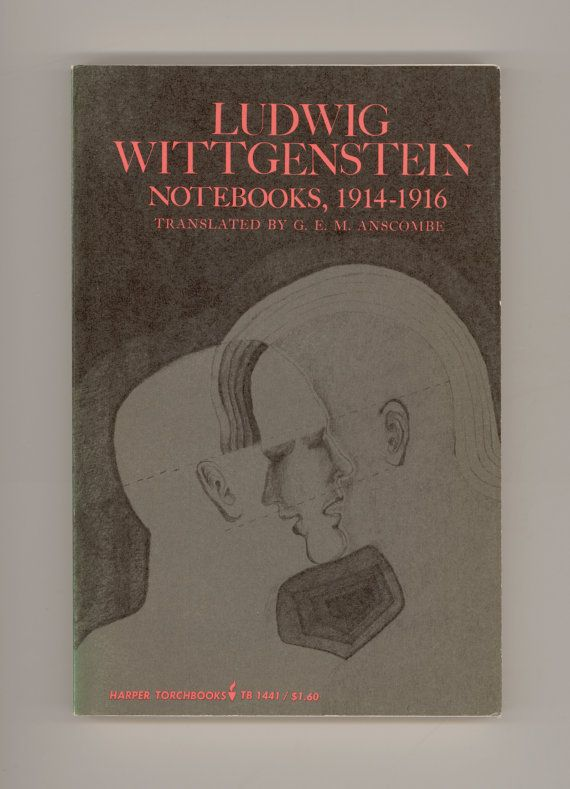 Ludwig Wittgenstein Notebooks 1914 1916 Translated By G E Etsy Ludwig Wittgenstein Reading Recommendations Philosophy