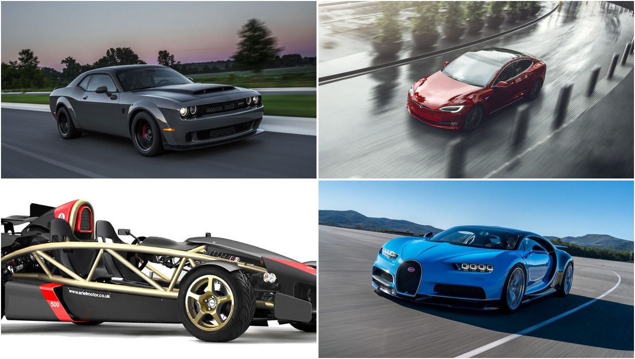 10 Fastest Cars To 60 Mph Ranked Fastest To Slowest Top Speed In 2020 Bugatti Veyron Super Sport Fast Cars Porsche Taycan