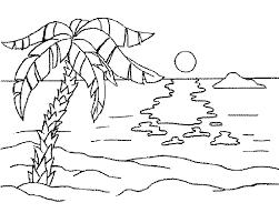 Resultado De Imagen Para Paisajes Para Dibujar A Mano Beach Coloring Pages Coloring Pages Nature Coloring Pages