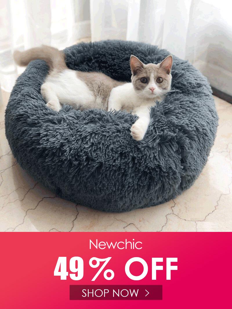 Winter Pet Bed Warm Dog Cat bed Long Plush Super Soft Pet
