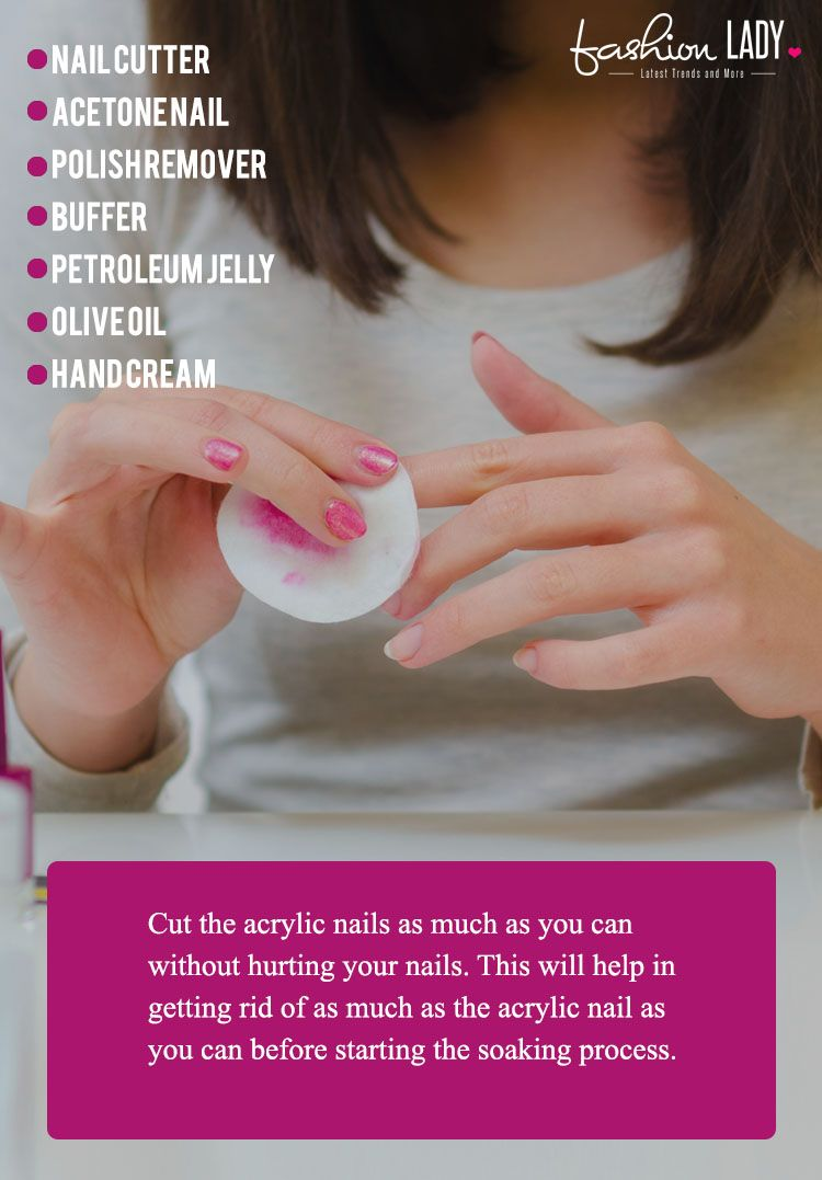 How to Remove Acrylic Nails at Home Remove acrylic nails