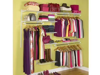 Master Bedroom Closet Organization Wire Racks