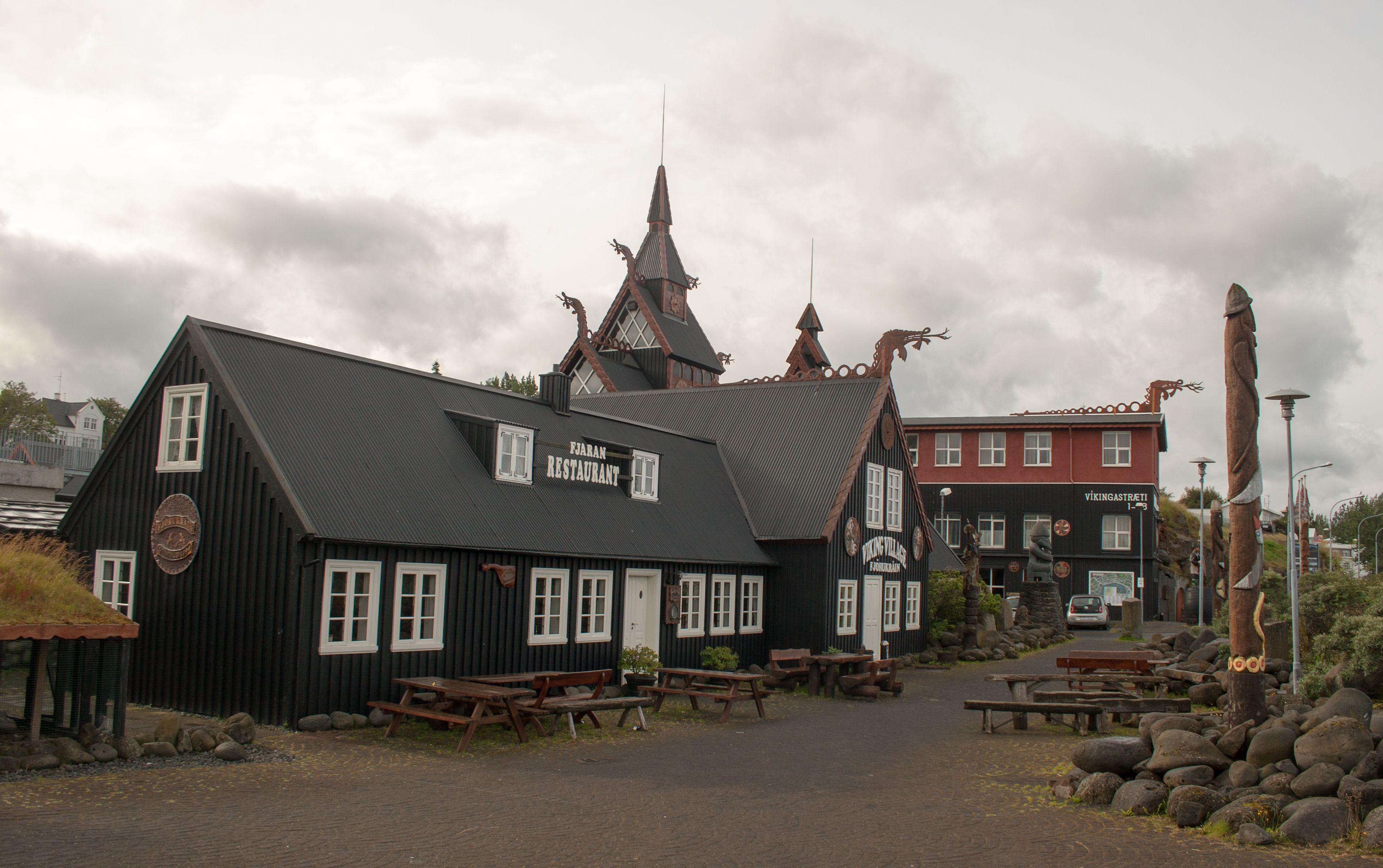 Hafnarfjordur Viking Village Nice Modern Meets Traditional