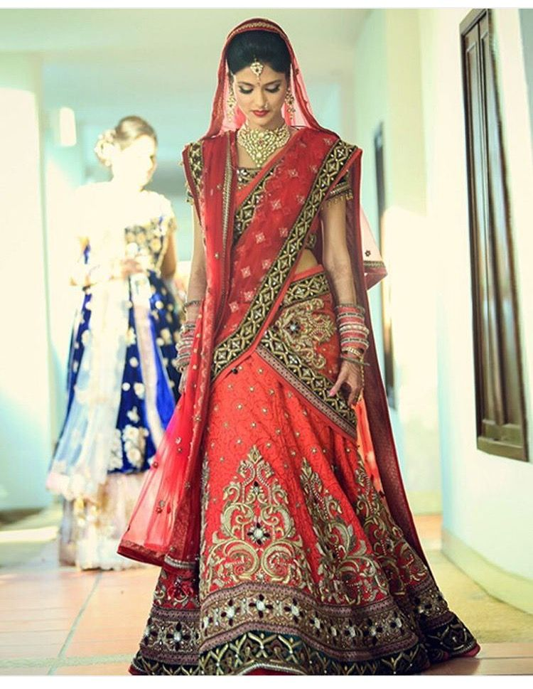 Indian bridal Rajasthani bridal Indian wedding Bridal outfits Dulhan ...