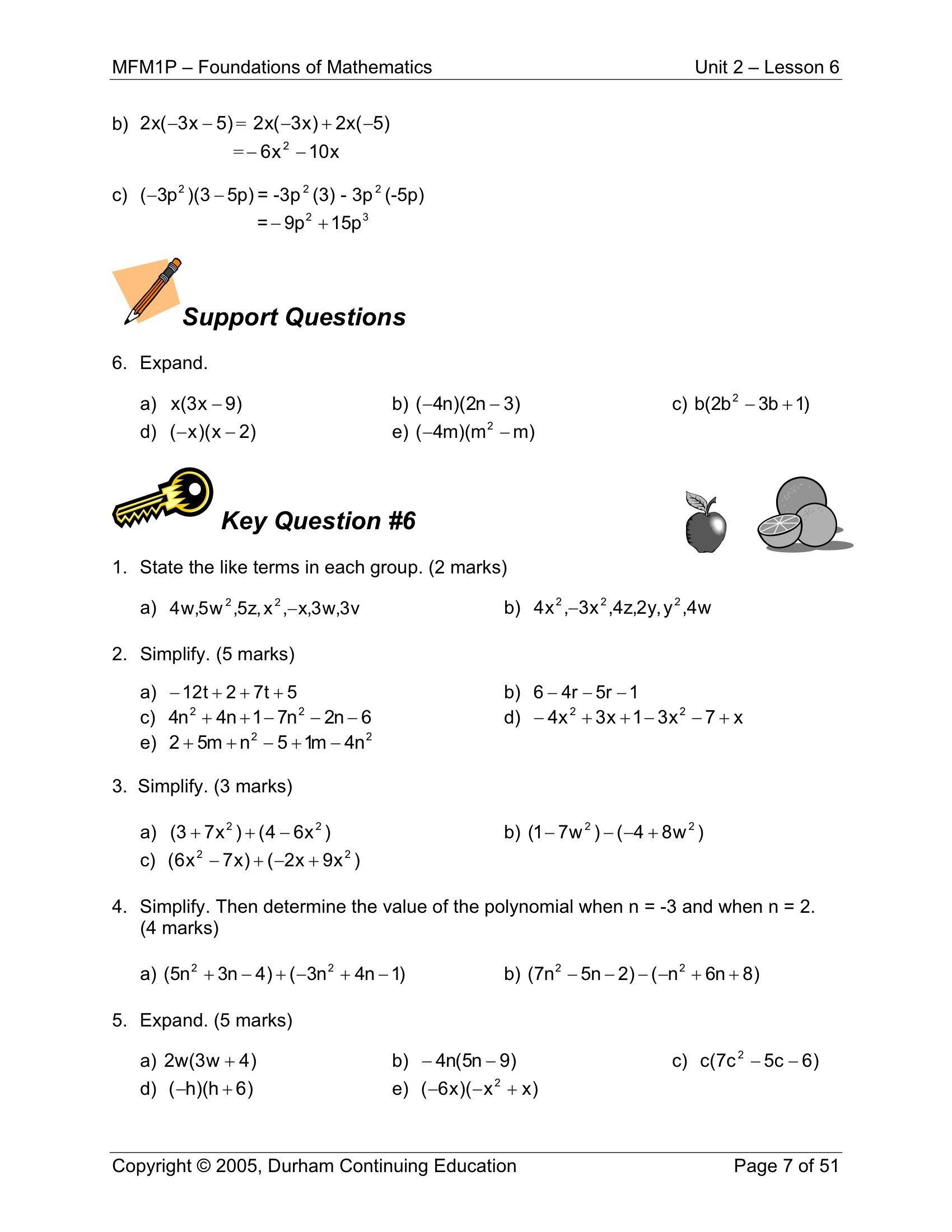 9th Grade Printable Worksheets 9th Grade Worksheets For